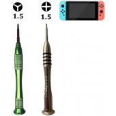 Schroevendraaier Set Triwing en Kruiskop voor Nintendo Switch