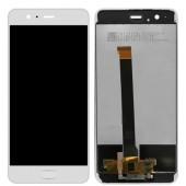 Huawei P10 Plus Scherm Voorkant Display met Frame Wit