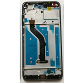 Huawei P8 Lite 2017 Scherm Voorkant Display met Frame Zwart