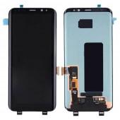 Samsung Galaxy S8 Scherm Voorkant Display Origineel Zwart