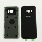Samsung Galaxy S8 Achterkant met Rear Camera Lens Cover Glass Lens Zwart