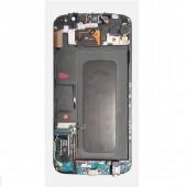 Samsung Galaxy S6 Scherm Voorkant Display met Frame Origineel Sky Blue