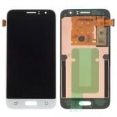 Samsung Galaxy J1 2016 Scherm Voorkant Display Origineel Wit
